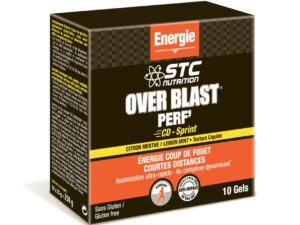 STC Nutrition gel Over Blast Perf CD menta lamaie, cutie 10 x 10 tub 25g