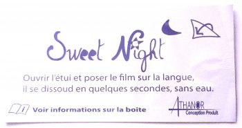 film oral melatonina, Sweet Night
