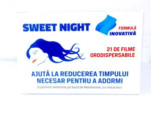 Sweet Night, cutie a 21 filme orodispersibile